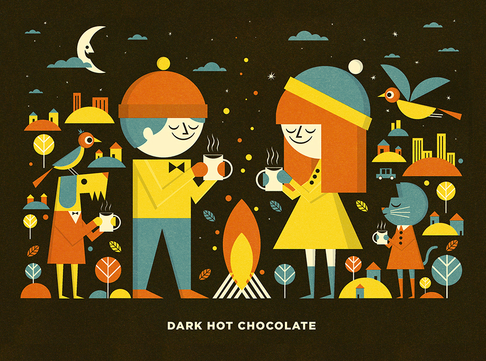 Hot Chocolate Tin Design