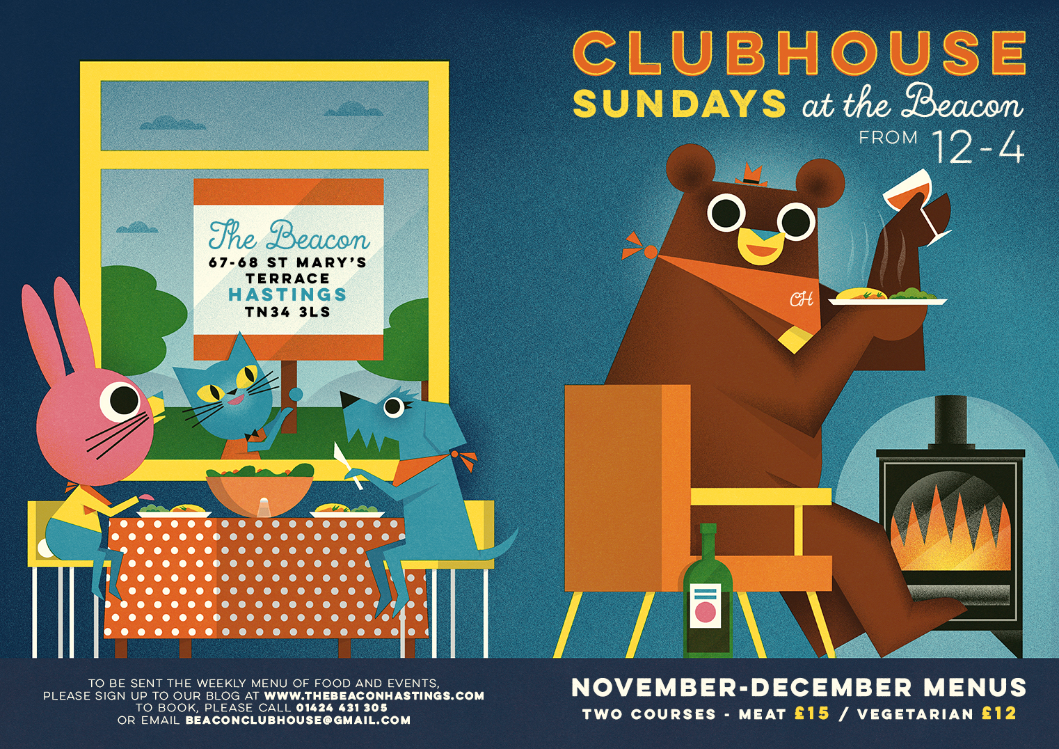 Clubhouse Sundays